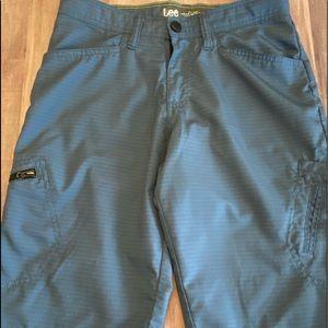 LEE boy sz 14 blue shorts